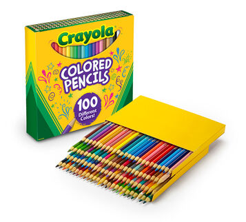 100 ct. Colored Pencils, 100 different colors
