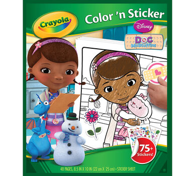 Doc McStuffins Color 'n Sticker Book