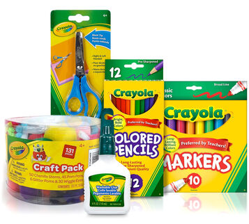 Kids' Homework  Station Supplies - You Pick