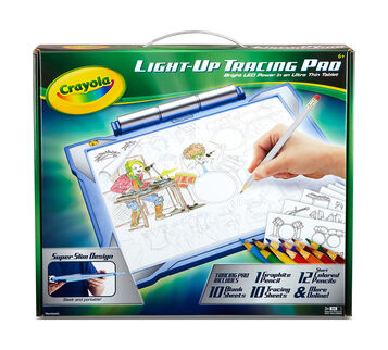 Light Up Tracing Pad - Blue