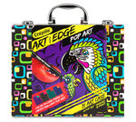 Art With Edge, Pop Art Portfolio, Tropical Pop Out of Box View