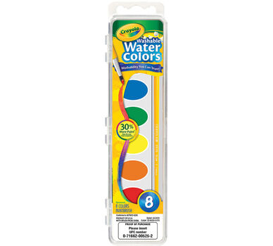 Washable Watercolors 8 ct.