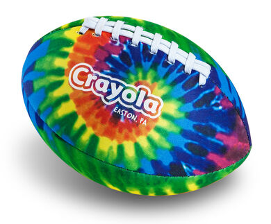 crayola logo tie dye football