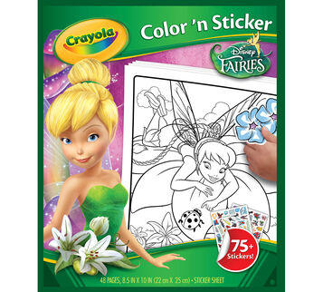 Disney Fairies Color 'n Sticker Book