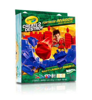 Create2Destroy - Fortress Invasion, Double Destruction