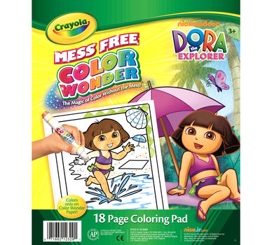 Color Wonder Coloring Pad - Dora the Explorer - Crayola