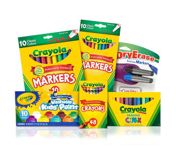 Deluxe Easel Supplies Kit
