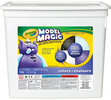 Model Magic Special FX - (4) 8 oz packs