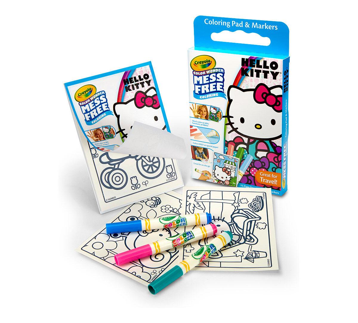 Color Wonder Hello Kitty Box Set