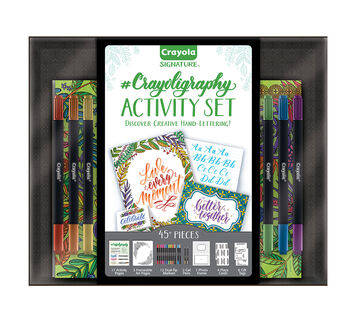 Crayoligraphy Activity Set 45+ piece set