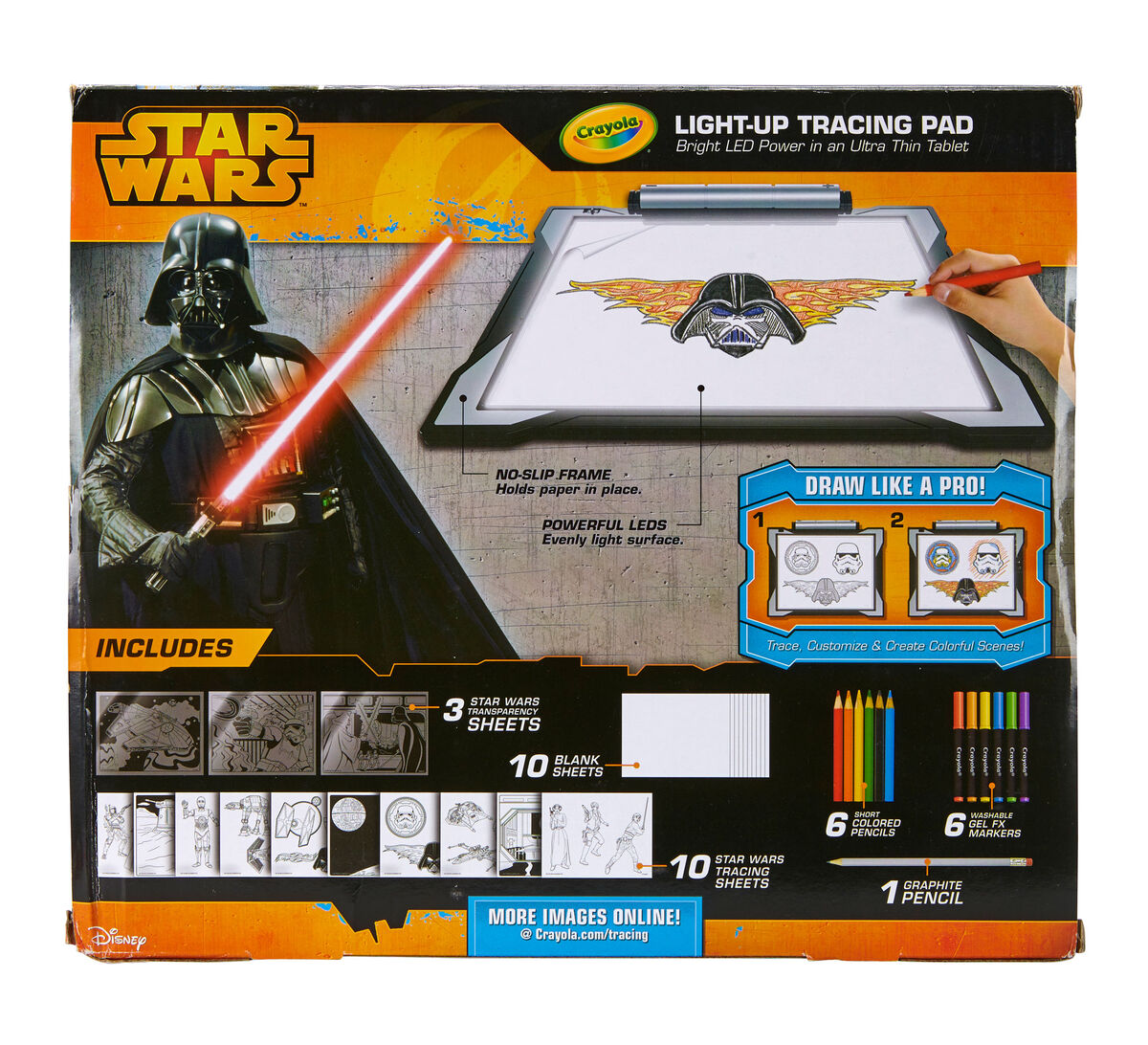 star wars light up tracing pad - Crayola Online Drawing