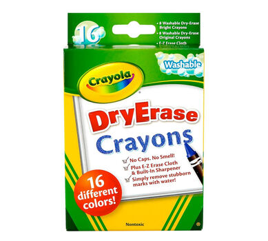 dry erase crayons 16 ct