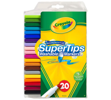 Washable Super Tips with Silly Scents 20 ct.