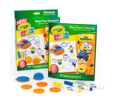 Minions Color Wonder Mess Free Stampers