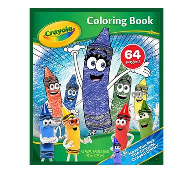 Crayon Crew 64 page Coloring Book