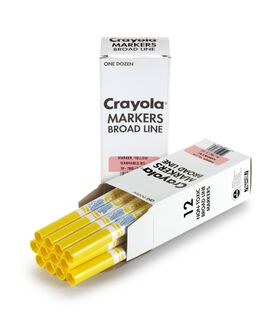 12 ct. Bulk Washable Markers, Conical Tip