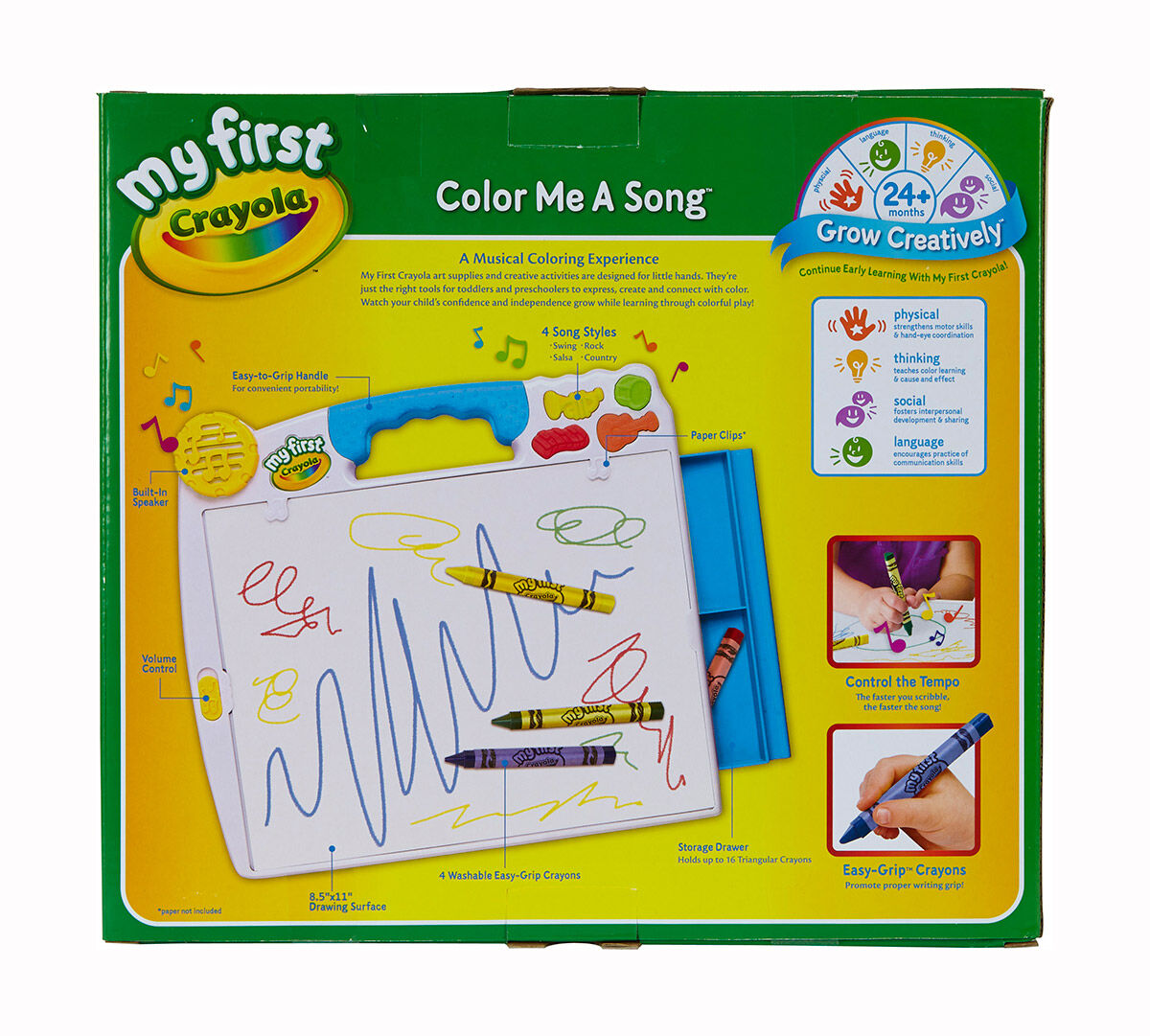 Crayola; My First Crayola; Color Me a Song; Art Tools; Electronic ...
