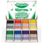 200 Count Washable Broad Line Markers Classpack, 8 Colors