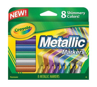8 ct. Metallic Markers