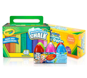 Putty, Chalk & Neon Paint Bundle