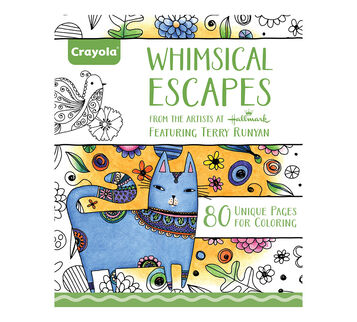 whimsical escapes coloring book - Crayola Coloring Book
