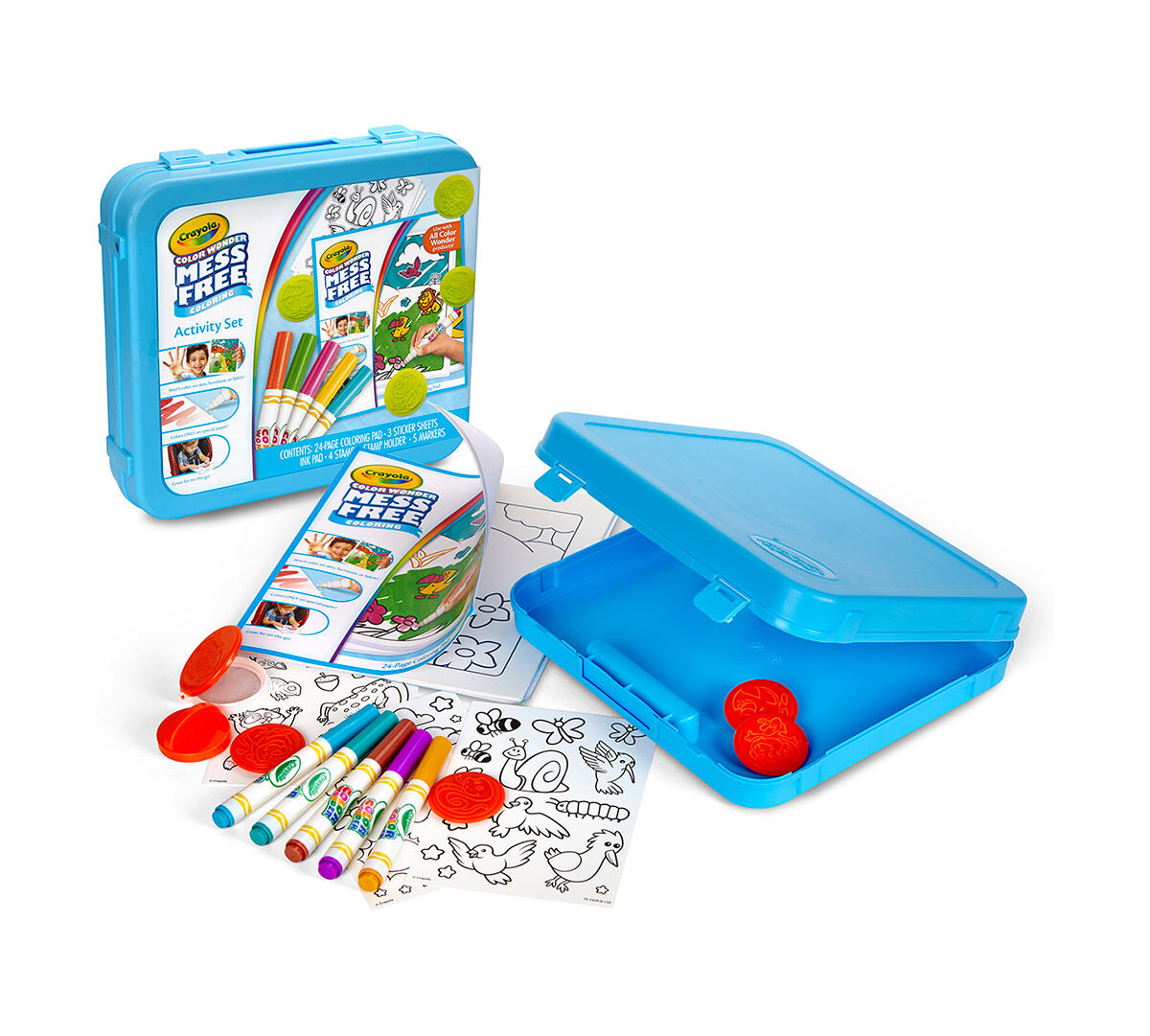 Co color in cars activity - Color Wonder Mess Free Activity Set