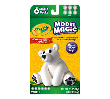 Model Magic 0.5-oz. White 6 ct.