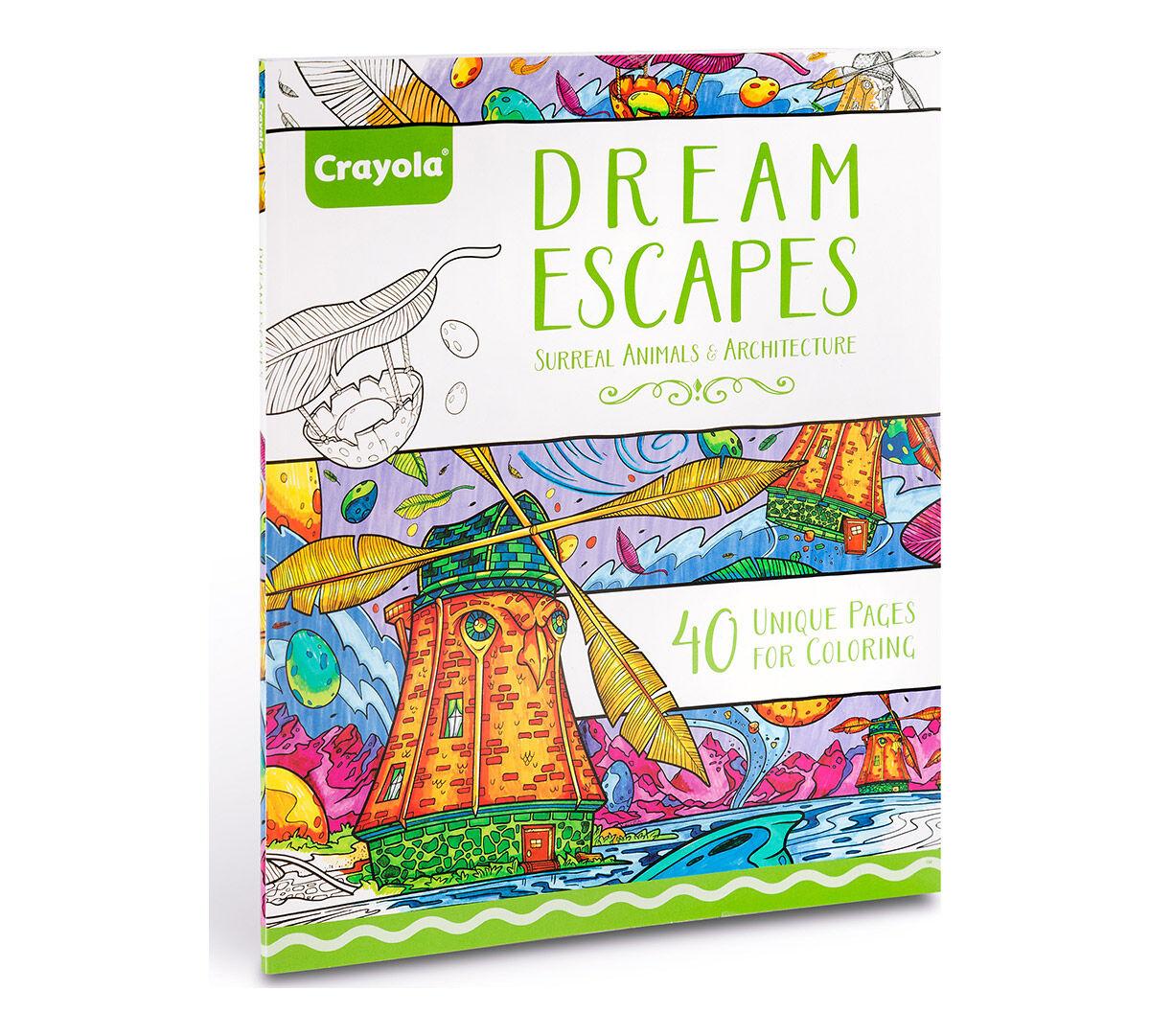 Coloring books - Dream Escapes Coloring Books