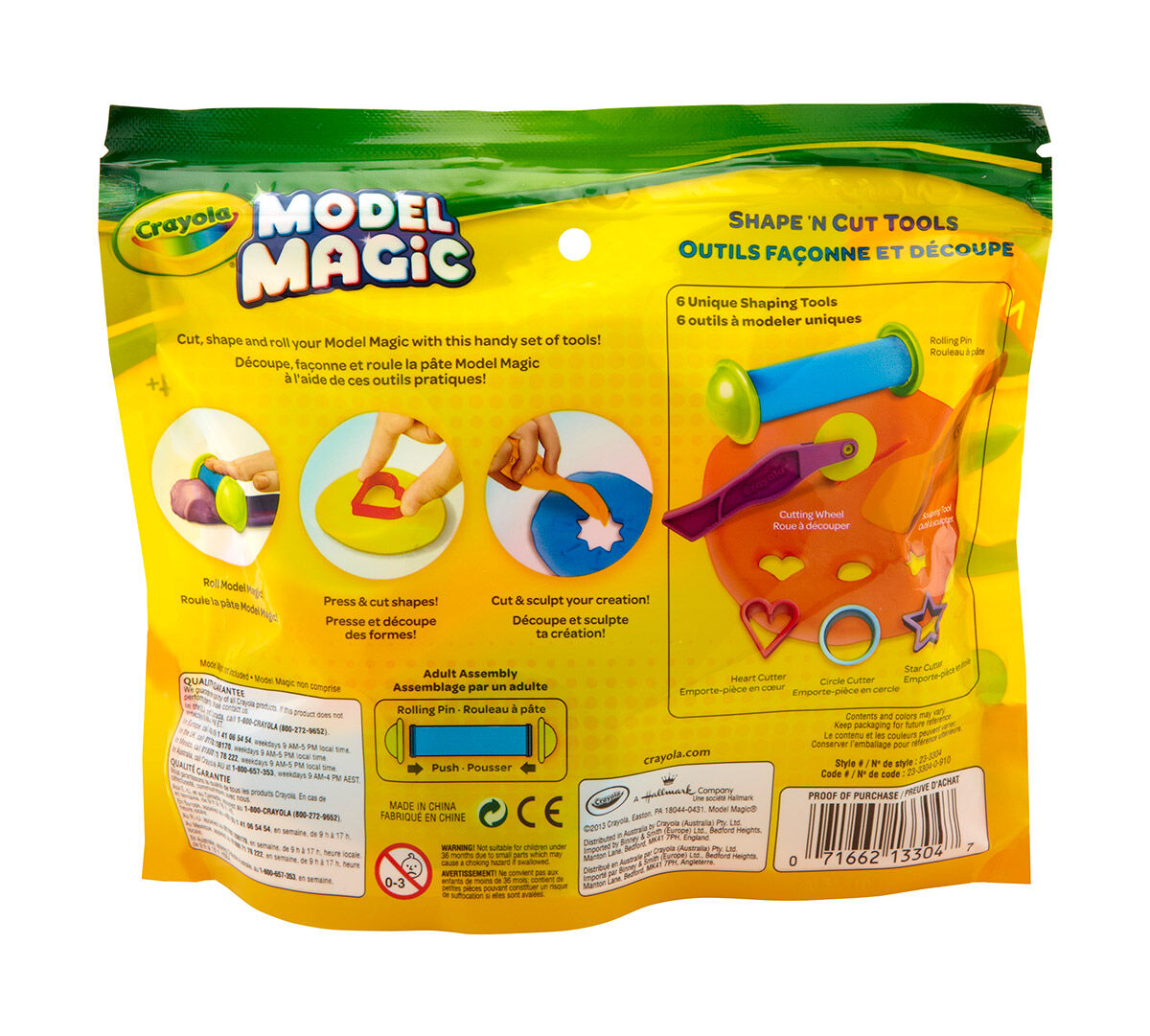 Model Magic Shape N Cut Tools Crayola