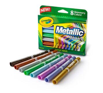 8 Count Metallic Markers