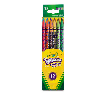 Twistables Colored Pencils, 12 Count