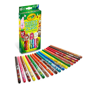 Doodle Scents Markers, 18 ct.