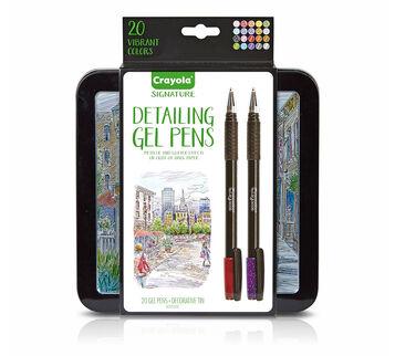 Signature Series 20 count Detailing Gel Pens