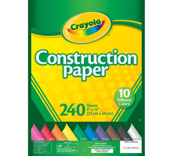 Construction Paper 240 ct.