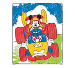 Color Wonder Mickey Mouse and his Roadster Racers