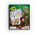 Beat Bugs Color and Sticker book and contents