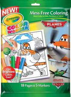 Color Wonder Disney Planes Fire and Rescue 18 Page Book