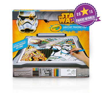 Star Wars Light-Up Tracing Pad