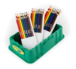Crayola 54 Count Trayola Colored Pencils, 9 Colors