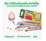 Silly Scents Twistable Colored Pencils 12 count open package