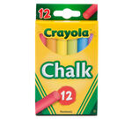 Multi-Colored Children's Chalk 12 ct.