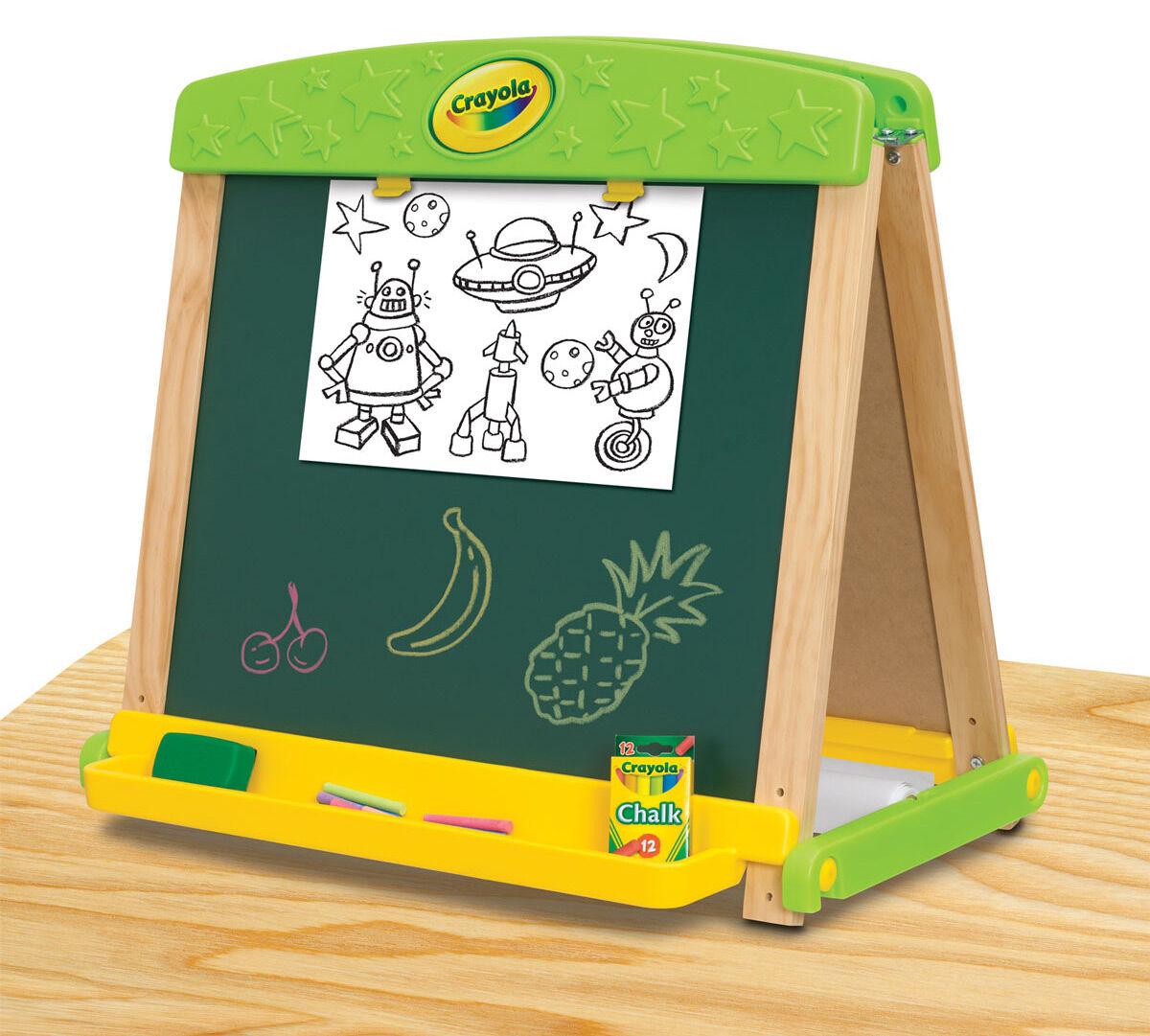 Draw 'N Store Wood Easel - Crayola
