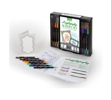 SIgnature Crayoligraohy Activity Set Package and Product
