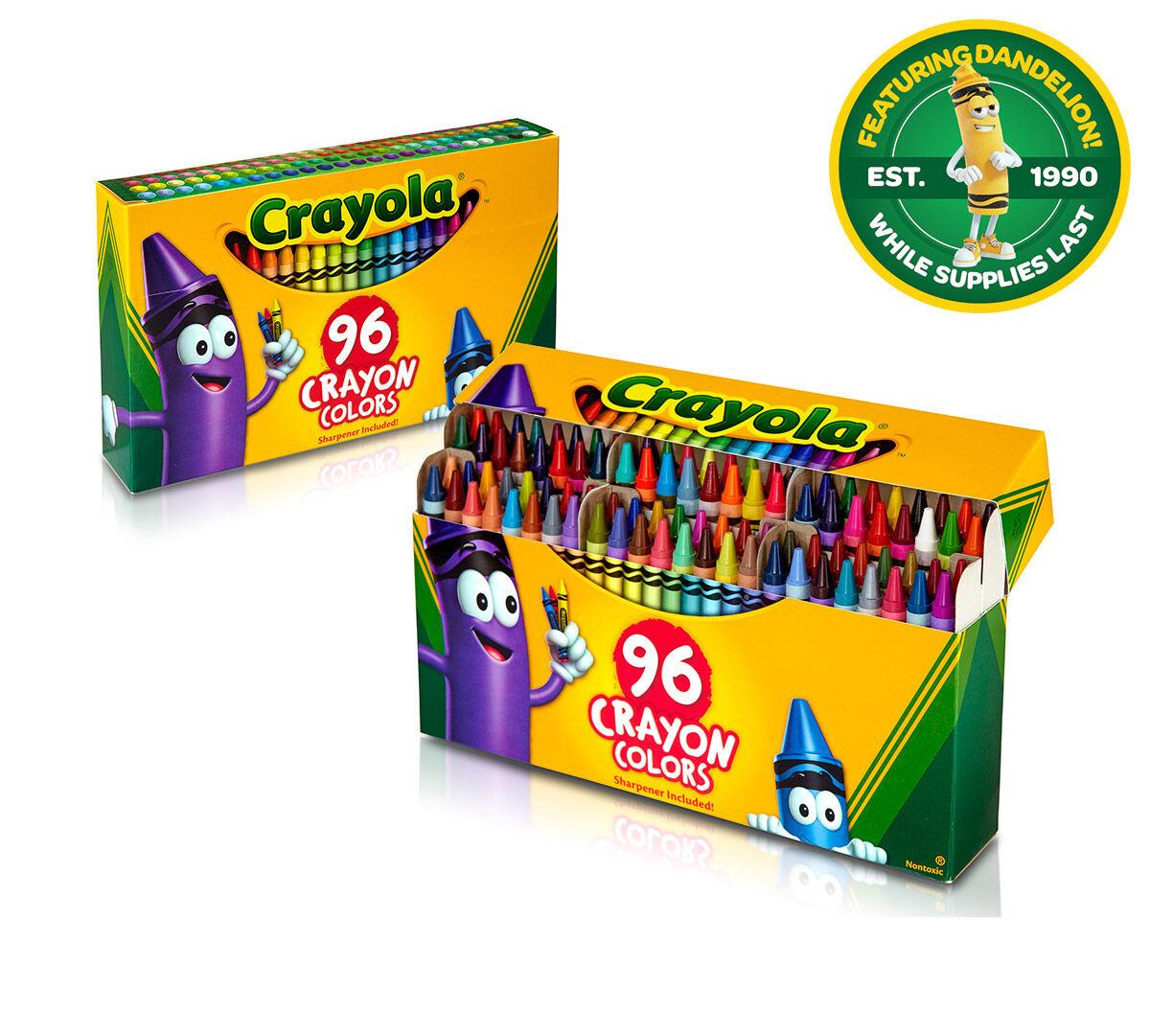 crayola crayons 96 ct