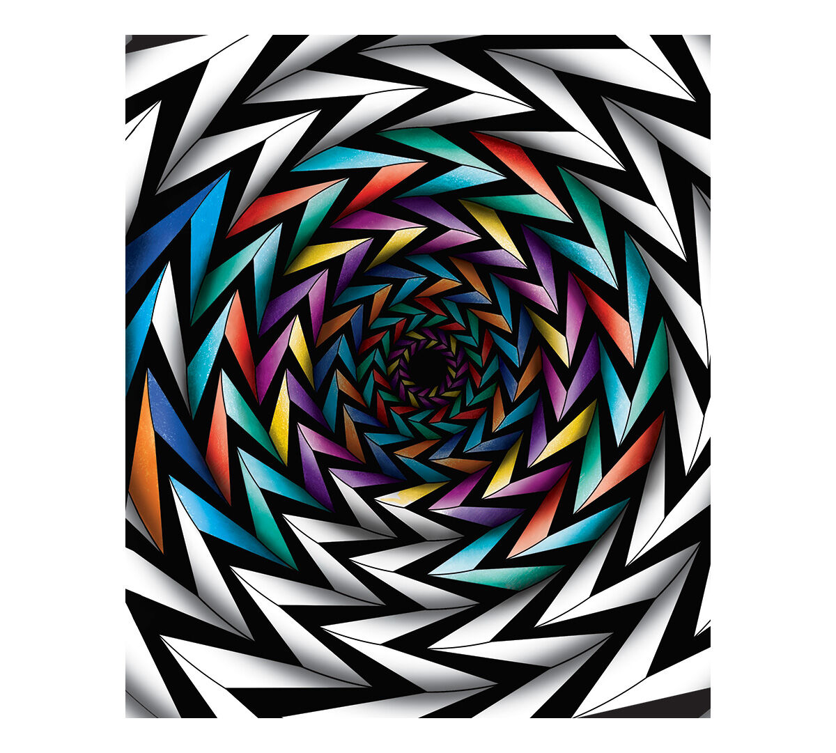 Crayola Art With Edge; Optical Illusions; 40 Aged Up Coloring Pages ...