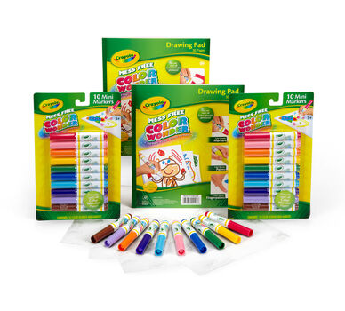 Crayola color wonder refill set crayola for Crayola color wonder 30 page refill paper