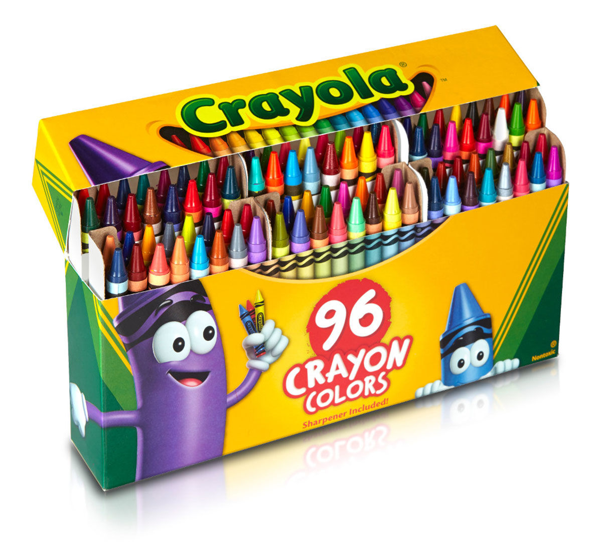 Crayola crayons 96 box