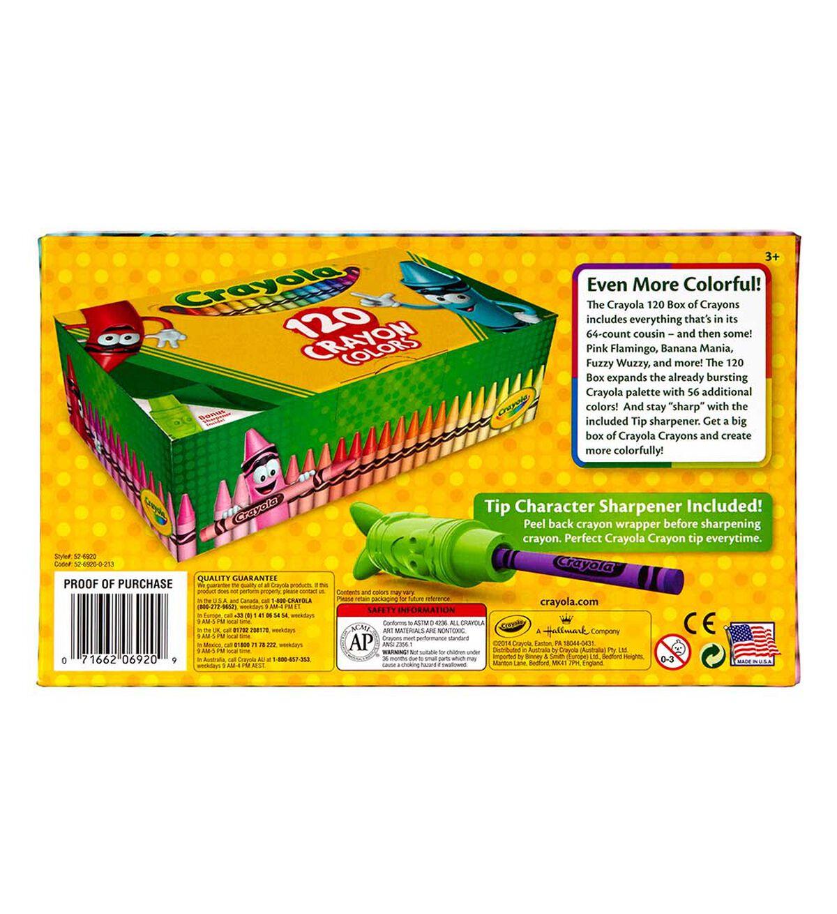 crayola crayons 120 ct