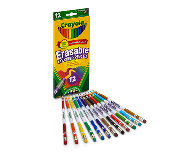 Erasable Colored Pencils 12 ct.
