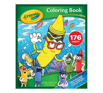 New Blue 176 Coloring Book front Cover